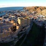 Alcazaba Almería capital - Almería Moorish castle - Festung Stadt Almería