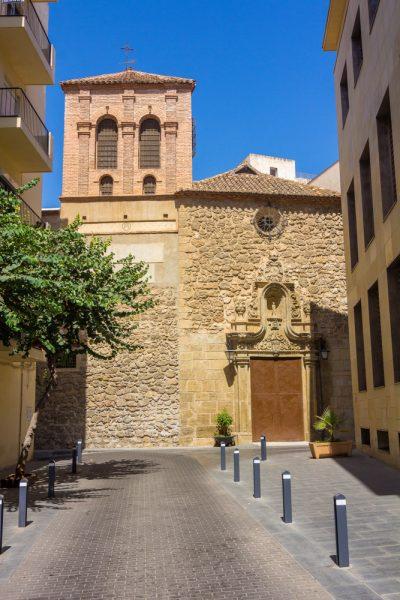 Iglesia Convento de las Claras, Almería capital - Convent Church of the Pure Almeria - Kloster in der Stadt Almería