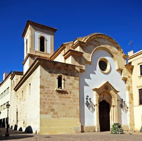 Almería capital - Iglesia Santuario de la Virgen del Mar - church Almería city Spain - Kirche in der Stadt Almería