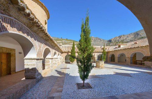 Almería alrededores - Albox - Monasterio Virgen del Saliente - monastery - Kloster