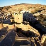 ciudad de Almería, alcazaba - Moorish castle, Almeria city - Festung Almería Stadt