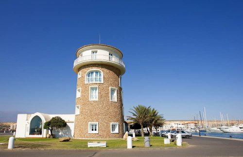 Almerimar Resort, torre - Almerimar Resort watchtower - Almerimar Aussichtsturm