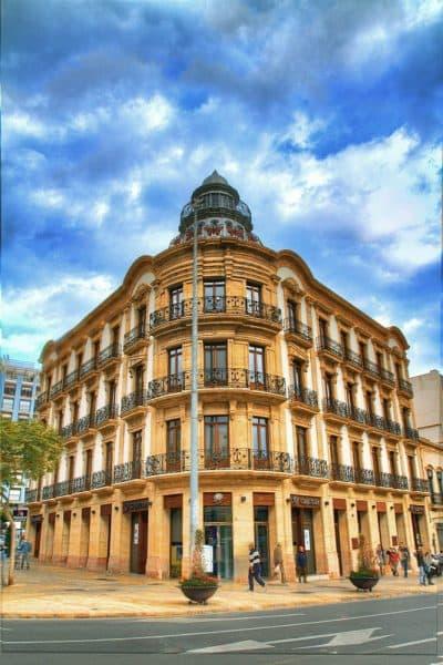 Almería capital Casa de las Mariposas - house of the butterflies in Almeria- Haus der Schmetterlinge in der Stadt Almeria