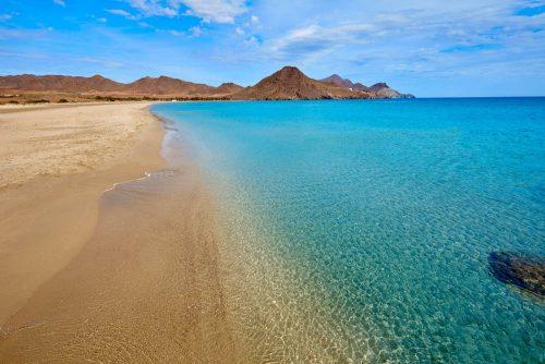 Almería Playa de los Genoveses - beach - Genoveses Strand in Níjar