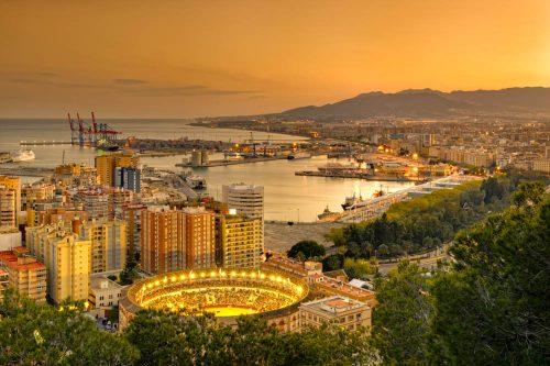 Málaga, Costa del Sol - Malaga capital - Malaga Stadt an der Costa del Sol