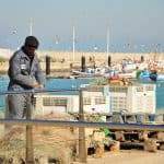 Chipiona Pescador, fisherman, Fischer