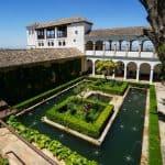Alhambra Patio del Ciprés de la Sultana; Sultana´s courtyard; Zypressenhof Generalife