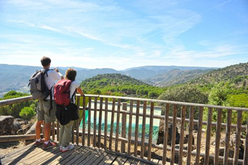 Sierra de Andújar Jaén Andalucía - senderismo - wandern - hiking