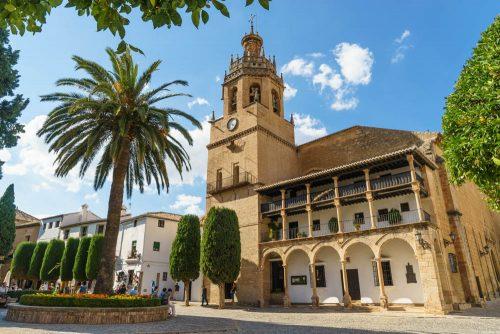 Iglesia La Mayor en Ronda, Sehenswürdigkeiten in Ronda Andalusien,