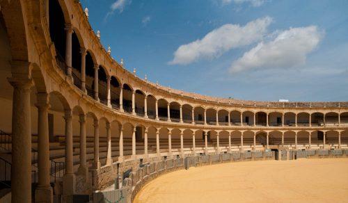 toros en ronda stierkampfarena bullfighting andalusia