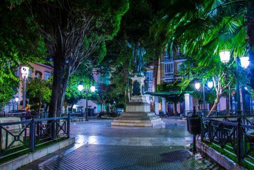Cádiz Plaza Candelaria - square - Platz in Cádiz-Stadt