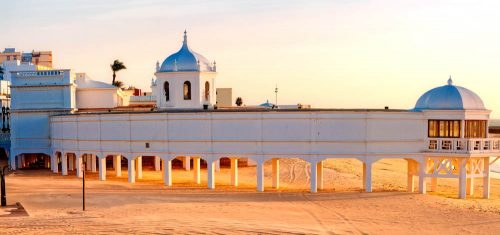 Cádiz capital, Balneario de la Palma - resort - La Palma am Caleta-Strand