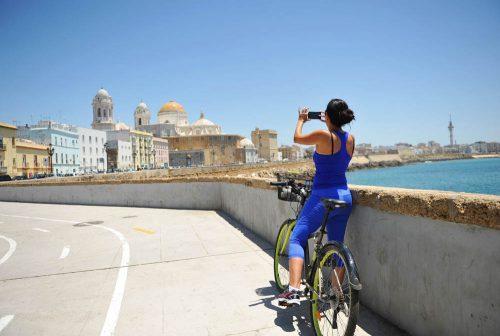 Cadiz by bike - Radfahren in Cadiz-Stadt - caminos de bici en Cádiz capital