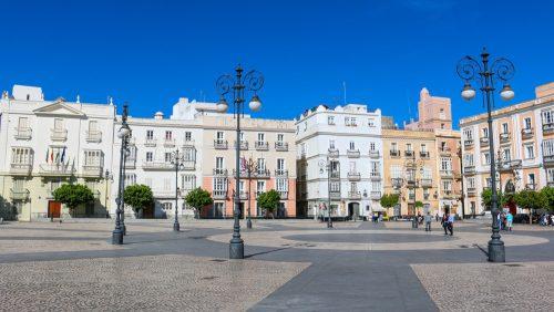 De compras en Cádiz - shops - einkaufen im Stadtzentrum - Plaza San Antonio
