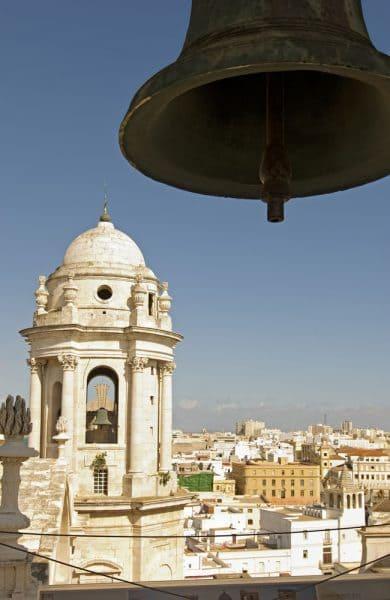 cadiz torre de la catedral, Glockenturm der Kathedrale von Cadiz