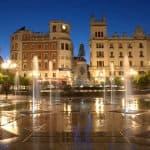 Plaza de las Tendillas Córdoba, Platz mit Brunnen