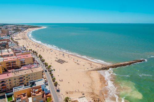 Chipiona, Playa de Regla, beach, Strand