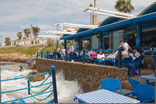 restaurantes en chipiona, bar las canteras