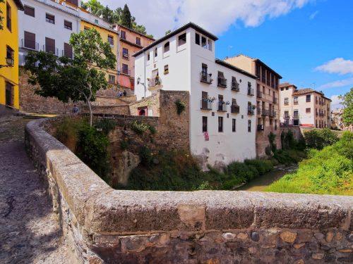 Granada Albaicín Stadtviertel Albayzín district