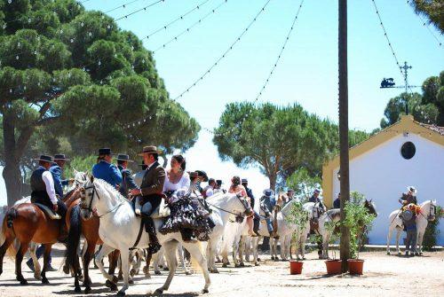 Chipiona, Romería del Pinar, festivity, Fest