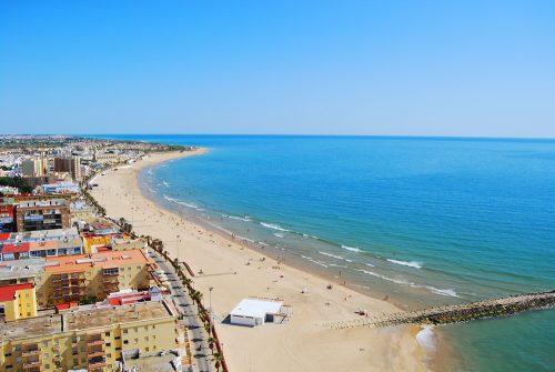 Costa de la Luz Chipiona, Playa de Regla - beach - Strand