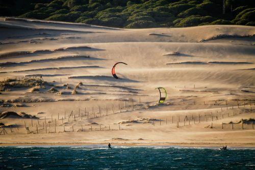 Tarifa, kitesurf, kiteboarding Costa de la Luz