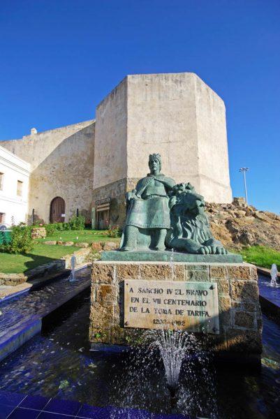 Tarifa, Castillo Guzmán el Bueno - castle - Burg in Tarifa Costa de la Luz