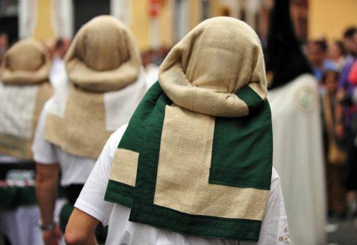 Semana Santa de Sevilla, costaleros - Seville Easter week - Sevilla Karwoche