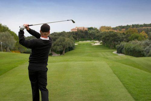 campo de golf Real Club Valderrama, Sotogrande, San Roque, Andalucía - golf course