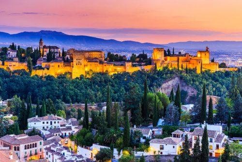 La Alhambra de Granada España - Die Alhambra in Spanien - Alhambra of Granada