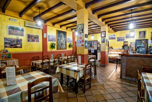 restaurante hermandad El Rocío Chipiona