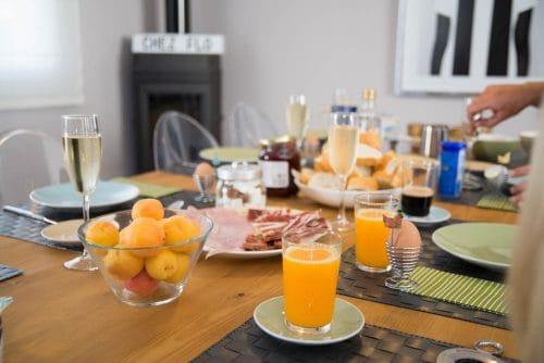 Frühstück im Hostel Chipibeach Chipiona