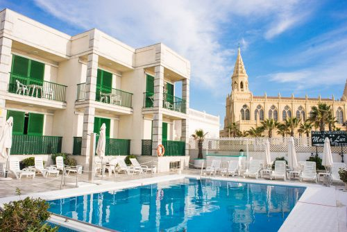 hotel marina luz con piscina, hotel mit pool in erster strandreihe costa de la luz