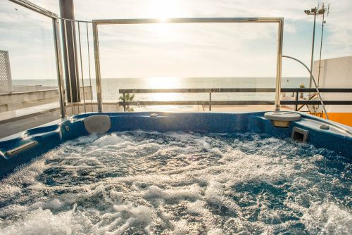 hotel playa de regla con vista al mar, Hotel mit Meerblick Chipiona