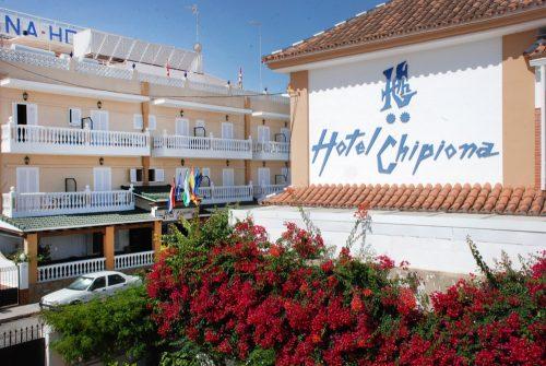 Hotel barato en Chipiona con salas