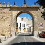 Jerez Puerta del Arroyo, Arch, Tor Stadtmauer