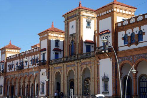 Estación de trenes, train station, Hauptbahnhof Jerez