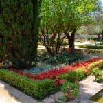 jardines del Alcázar de Jerez, gardens in the Moorish castle of Jerez, Gärten im Alcazar von Jerez