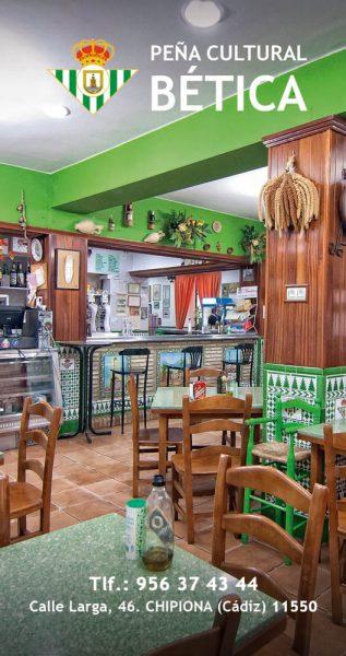 Restaurante Peña Bética Chipiona-betis-fútbol-sevilla