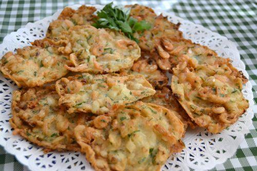 Receta de Tortillita de Camarones
