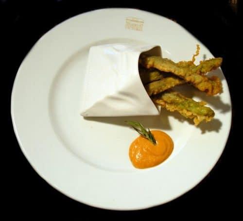 Tapas essen im Puerta Victoria Sanlucar