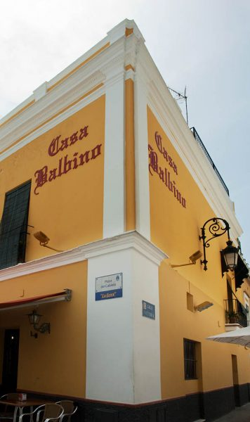 restaurants in sanlucar casa balbino