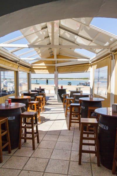 Fischrestaurant Costa de la Luz, dónde comer en Sanlúcar