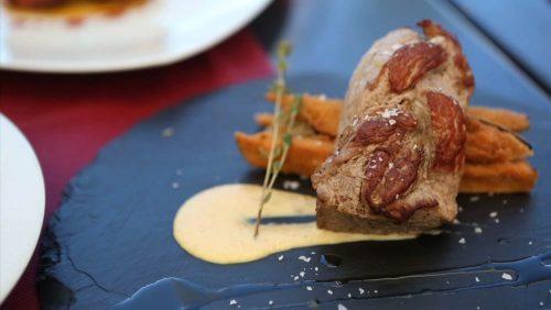 Fleischgericht Restaurant Hotel Monterrey