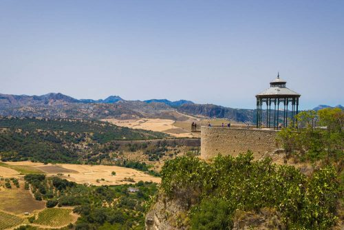 Ronda Hemingway Mirador Aussichtspunkt