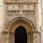 Sanlúcar, Parroquia Nuestra Señora de la O, church, Portal der Kirche Nuestra Señora de la O