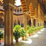 Real Alcázar de Sevilla - Patio de las Doncellas