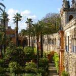 Jardines del Real Alcázar de Sevilla - Royal Alcazar Gardens Seville - Gärten im Alcazar Sevilla-Stadt