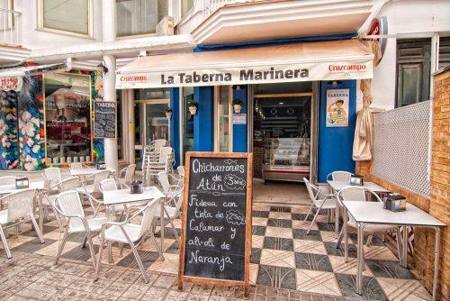 taberna marinera bar en el centro de chipiona
