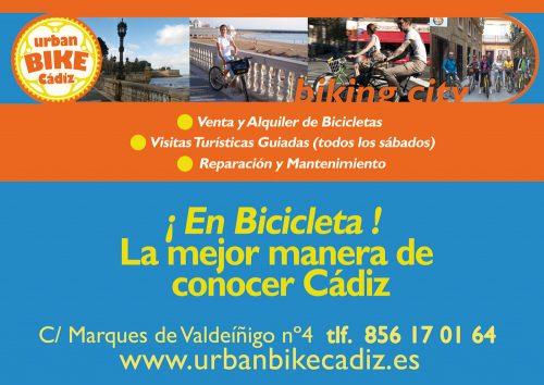 venta y alquiler de bicicletas en cadiz